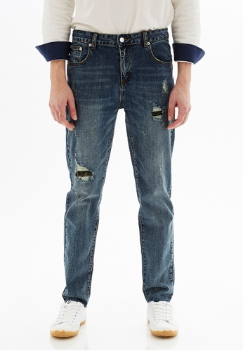 Life8 blue Casual Slim-Fit Jeans -02480-Blue 0864DAA44F938FGS_1