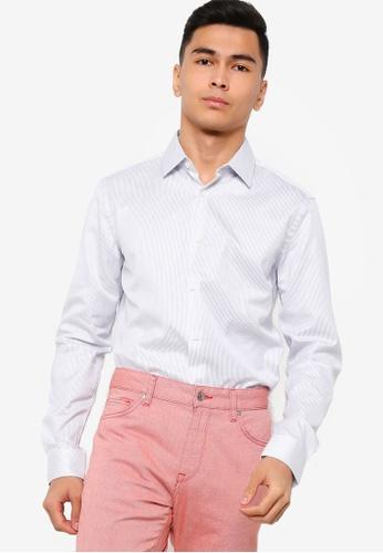 BOSS 藍色 T-Charlie Long Sleeve Shirt 74B09AA3ACA6BAGS_1