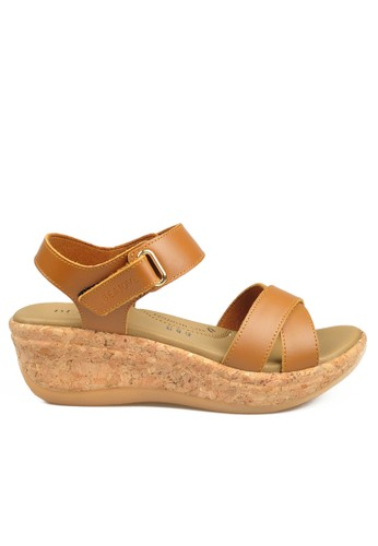 Beajove brown Beth Wedges Sandals BE707SH69IYWID_1