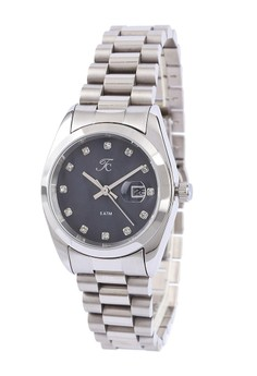 Moment Watch Teiwe Collection TC-CL2001 Jam Tangan Wanita - Stainlles Steel - Silver