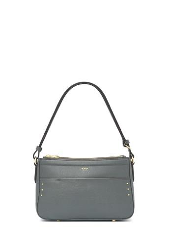 BONIA grey Dark Grey Basic Stud Sling Bag EBB2FACC3007C3GS_1