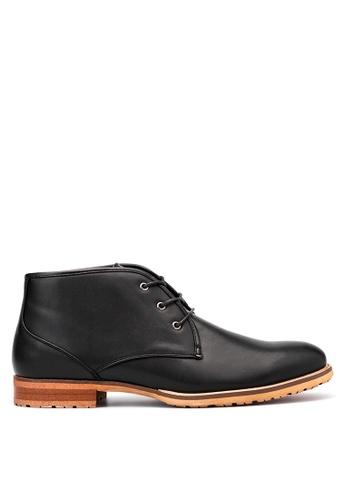 Mendrez black Smart Casual Shoes ME992SH13VWSPH_1