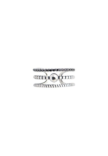 A-Excellence silver Premium S925 Sliver Geometric Ring AFD14ACF5E5202GS_1