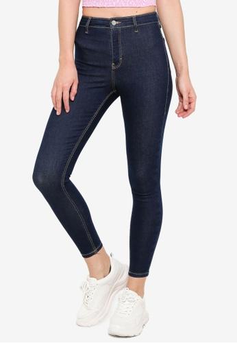 TOPSHOP blue Indigo Joni Jeans 489F9AAF6BACE7GS_1