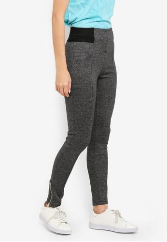 LC Waikiki grey Grey Melange Trousers 92138AA40F3ACEGS_1