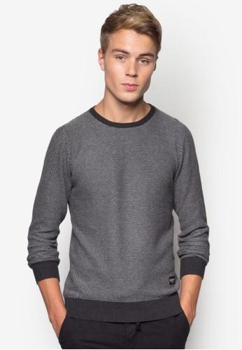 暗紋長袖衫,esprit童裝門市 服飾, 毛線衣