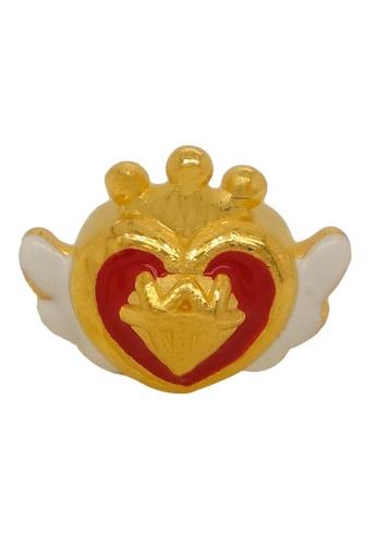 LITZ gold [Free Bracelet] LITZ 999 (24K) Gold Heart Charm EPC0560RED (1.02g) CA9EEAC5638336GS_1