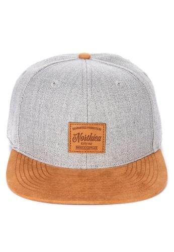 H&M grey Cap with an applique D8876AC847536AGS_1