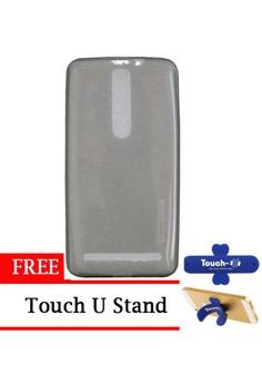 harga Tunedesign LiteAir for Asus Zenfone 2 - Abu abu + Gratis Touch U Stand Zalora.co.id