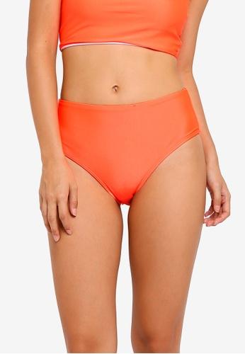 Cotton On Body orange Highwaisted Full Bikini Bottom 1D773US1695D1DGS_1