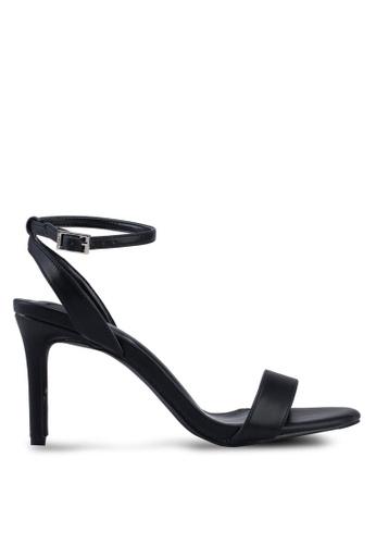 Nose black Ankle Strap Heels A9D23SH89CBA30GS_1