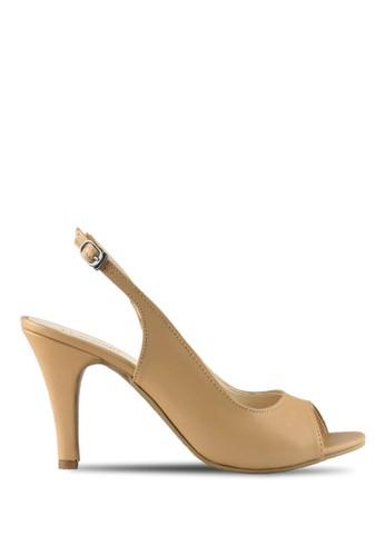 CLAYMORE beige Claymore sepatu high heels B 708T - Cream CL635SH74MIFID_1