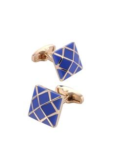 ebff53cf9e93 Kings Collection blue Fashion Blue French Cufflinks CB7BEAC2F88A90GS_1
