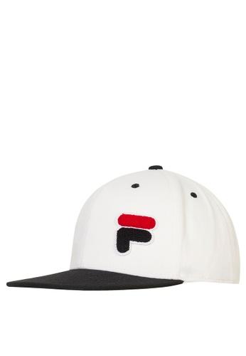 Buy FILA White Line Baseball Cap Online on ZALORA Singapore 9a0417cffbe