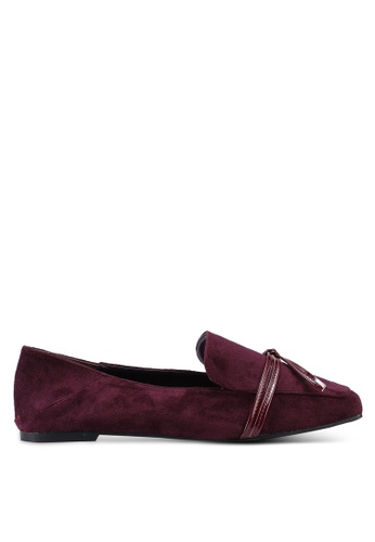 nose red Patent Embellished Loafers 2D538SH2B77668GS_1