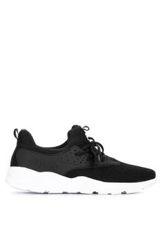 09a764f6fe6d7d Fila black Captivate Running Shoes EAF45SHE8054B1GS 1
