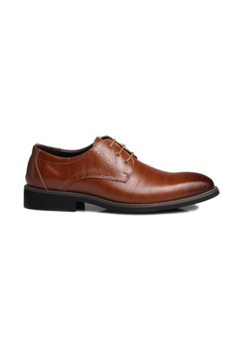 Kings Collection brown Seibel Oxford Shoes KCCS4 B362CSH6DB0AFBGS_1