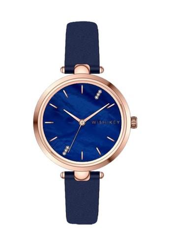 Wish/Key blue Jam Tangan Wanita Wish/Key Abigail WK5001RG/04 C21FEAC79DE0B9GS_1
