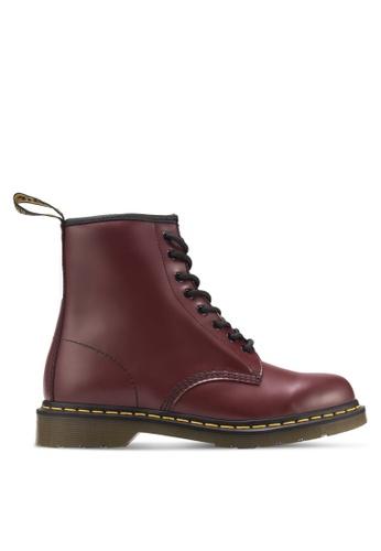 Dr. Martens red Core Originals 8-Eye Boots DR086SH80ITRSG_1