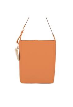 f59a01c7b5b OBX brown OBX Leather Shoulder Bag - Caramel 278F8ACA5E3582GS_1