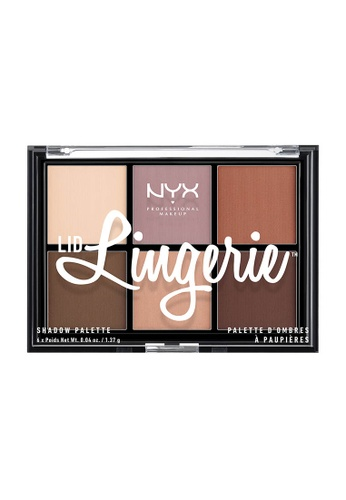 NYX Professional Makeup multi NYX Professional Makeup Lid Lingerie Shadow Palette 49AA2BE689B81DGS_1