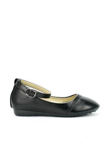 Mario D' boro Runway black CS 25584 BLACK School Shoes 124A1KSA97211EGS_1