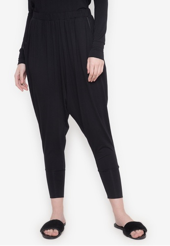 Lily of the Valley black Drop-crotch Pants LI504AA0JPBQPH_1
