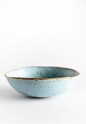 KRA Sanctuary blue Sii Faa Free-Form Soup Bowl 8742FHLDB2B0E2GS_1