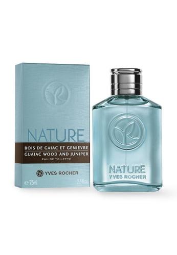 Yves Rocher Nature Homme Eau de Toilette Guaiac Wood & Juniper 75ml YV460BE07LLKSG_1