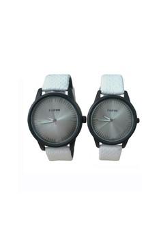 New FeiFan Silver Tone Dial Couple Watch
