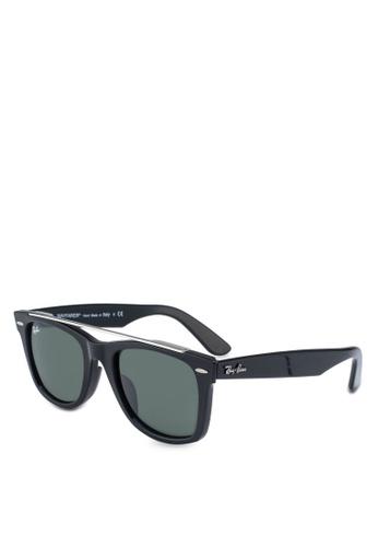 Ray-Ban 黑色 Ray-Ban RB4540F 太陽眼鏡 33B01GL78386F1GS_1