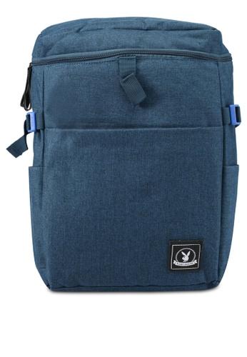 Playboy blue Playboy Casual Backpack PL371AC0SJZQMY_1