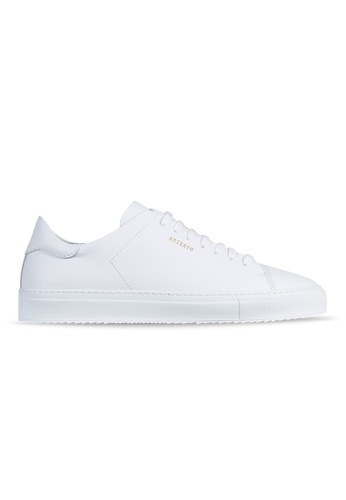 Axel Arigato Clean 90 Sneaker 白色皮革 75B17SH9766DCBGS_1