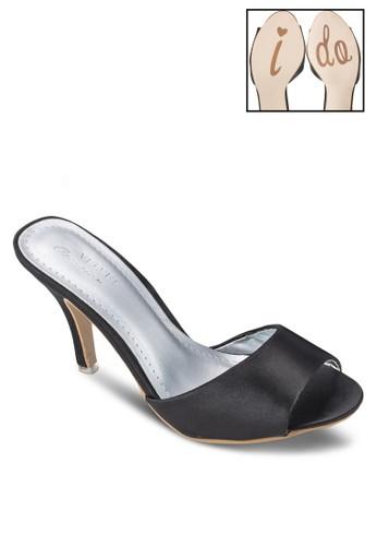 Ocesprit暢貨中心casion 寬帶懶人高跟鞋, 女鞋, 鞋