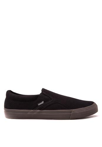 SONNIX black Ackbar 2 Men's Lace Up Sneaker Shoes SO490SH37HSWPH_1