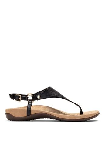 Vionic black Kirra Backstrap Sandal A505BSHA1C106CGS_1
