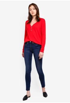 Women's Denim Ripped Look Jeggings Leggings Women's Clothing Girls