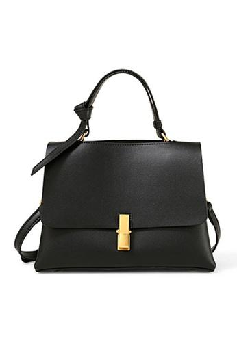 Twenty Eight Shoes black VANSA  Cow Leather Hand Bag VBW-Hb1004 DB7F9AC0166FE1GS_1