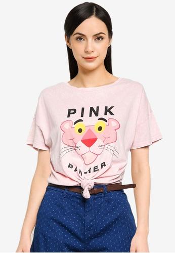 Springfield pink Pink Panther T-Shirt 9D359AA22B6744GS_1