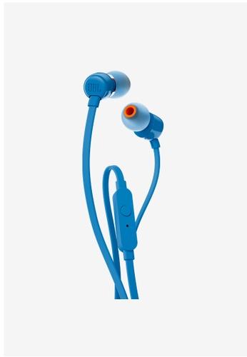 JBL blue JBL T110 In ear headphones 08B03AC31F55BFGS_1