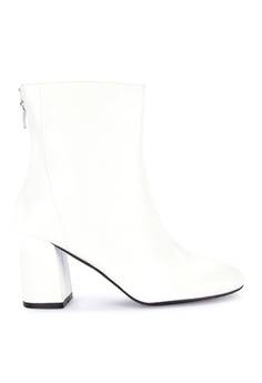 aa8fac9f862 Primadonna white Block Heeled Boots D1936SHB63229DGS 1