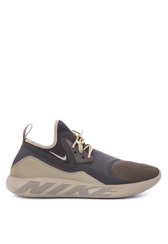 Nike brown and green Men's Lunar Charge Essential Shoes NI126SH0KPWMPH_1