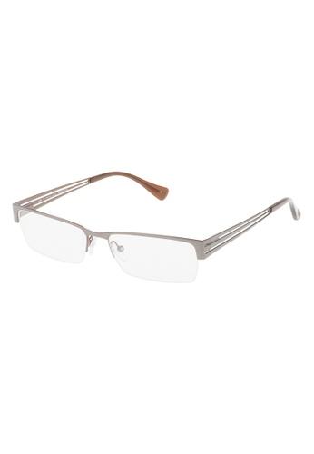 Police grey POLICE Incisive 1 Eyeglasses VPL137 0596 PO706AC16OXBMY_1