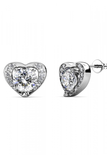 Her Jewellery silver Her Jewellery Forever Earrings with 18K Gold Plated D30F8AC78F812BGS_1