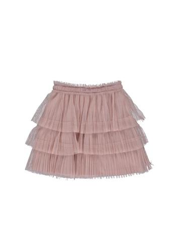 LC Waikiki pink Girl Ruffled Tulle Skirt A6EC8KAC8F2E9EGS_1