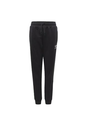 ADIDAS black trefoil pants 0D47BKA080FCB9GS_1
