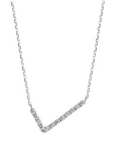 V-shape Silver Necklace
