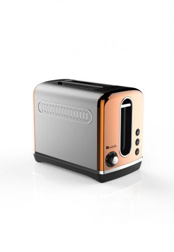 Odette Streamline Series 2-Slice Bread Toaster (Copper) 07810HLBB77922GS_1