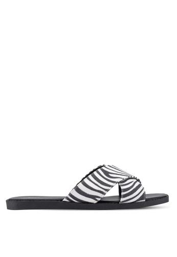 Nose white Slide On Sandals D9E7ASH72552D7GS_1