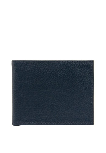 The Tannery Manila blue Tom Leather Wallet 1F45FACE80A141GS_1